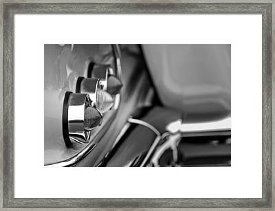 1958 Chevrolet Impala Tail Lights Framed Print