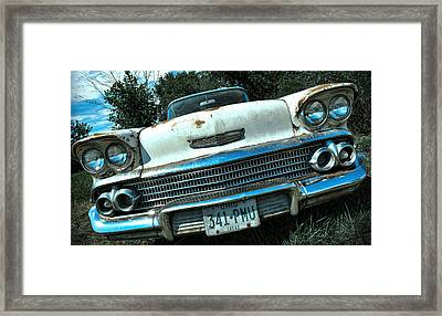 1958 Chevy Bel Air Framed Print by Gordon Dean II