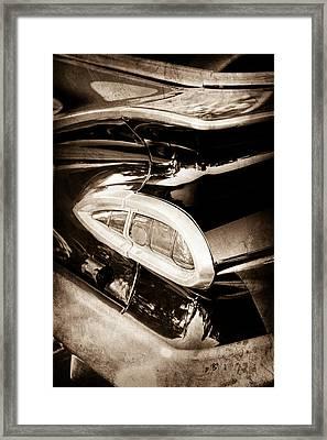 1959 Chevrolet Impala Taillight Framed Print by Jill Reger