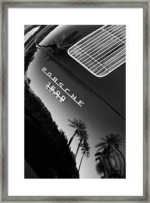 1959 Porsche 356 A 1600 Convertible D Rear Emblem Framed Print by Jill Reger