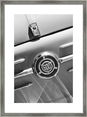 1960 Fiat 600 Jolly Emblem Framed Print by Jill Reger