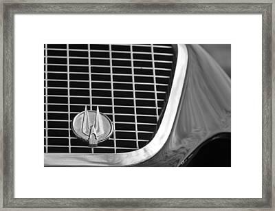 1960 Studebaker Hawk Grille Emblem Framed Print by Jill Reger
