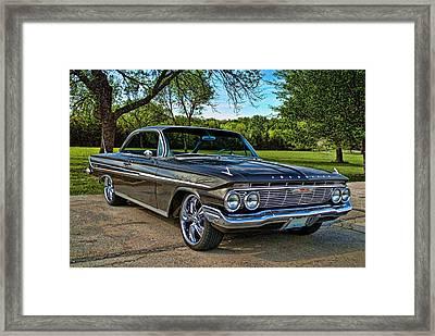 1961 Chevrolet Impala Framed Print by Tim McCullough