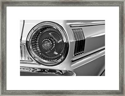 1964 Ford Falcon Sprint Convertible Taillight Framed Print