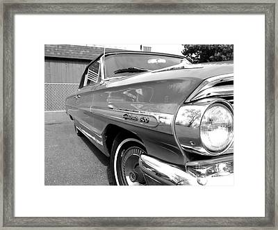 1964 Ford Galaxie 500 Convertible Framed Print by Doc Braham