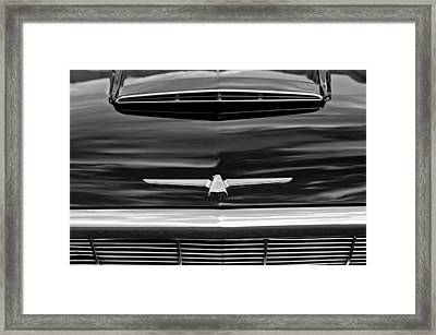 1964 Ford Thunderbird Hood Emblem Framed Print