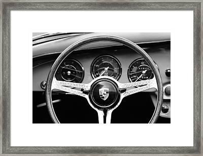 1964 Porsche C Steering Wheel Framed Print