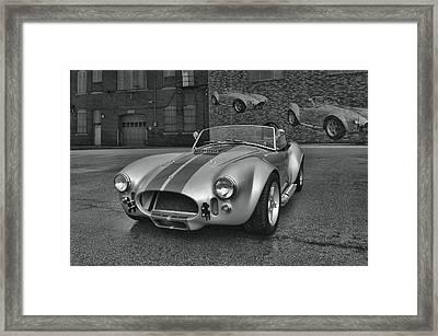 1965 Shelby Cobra Replica Framed Print by Tim McCullough