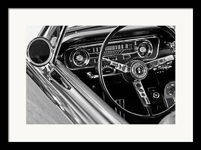 Steering Wheel Framed Prints