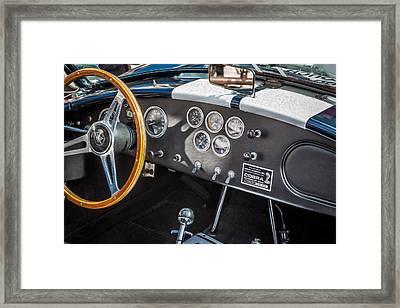 1966 Ford Ac Cobra 427 Big Block    Framed Print by Rich Franco