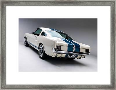 1966 Mustang Gt350 Framed Print