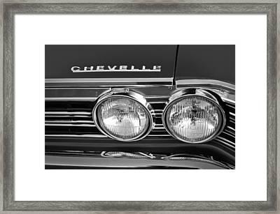 1967 Chevrolet Chevelle Super Sport Emblem Framed Print