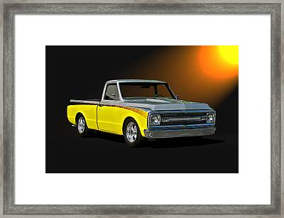 1969 Chevrolet C10 Pick Up Framed Print by Dave Koontz
