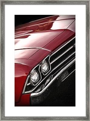 1969 Chevrolet Chevelle Ss 396 Framed Print by Gordon Dean II