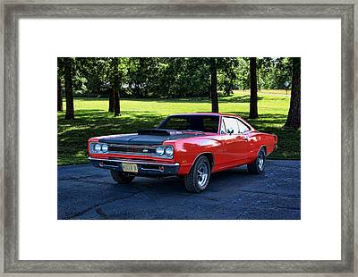 1969 Dodge Super Bee Framed Print by Tim McCullough