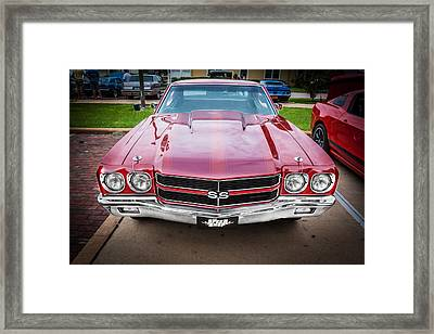 1970 Chevy Chevelle 454 Ss Painted  Framed Print