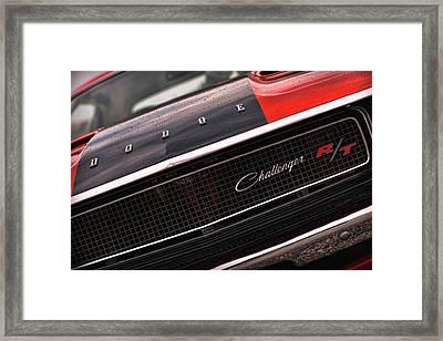 1970 Dodge Challenger Rt Framed Print by Gordon Dean II