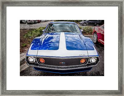 1971 Amc Javelin 360 Amx   Framed Print