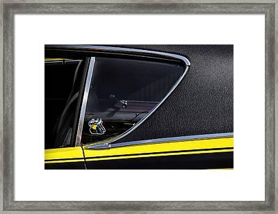 1971 Dodge Charger Super Bee Framed Print