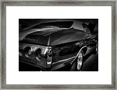 1972 Chevrolet Chevelle Framed Print by David Patterson