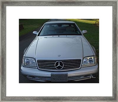 1999 Mercedes Sl500 Framed Print