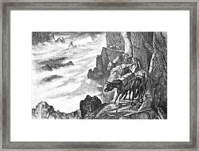 19th Century Smugglers Framed Print by Bildagentur-online/tschanz