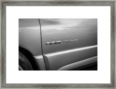 2004 Dodge Ram Srt 10 Viper Truck Painted Bw  Framed Print by Rich Franco