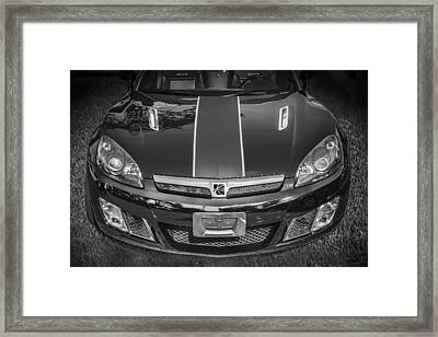 2009 Saturn Sky Red Line Coupe Framed Print by Rich Franco