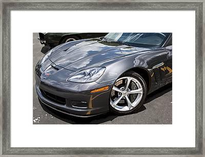 2010 Chevy Corvette Grand Sport Framed Print