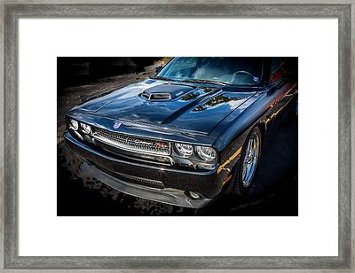 2010 Dodge Challenger Rt Hemi    Framed Print by Rich Franco