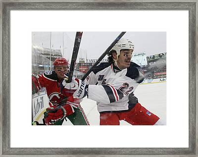 2014 Coors Light Nhl Stadium Series - Framed Print