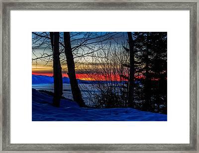 1-27-2015 Take One Framed Print