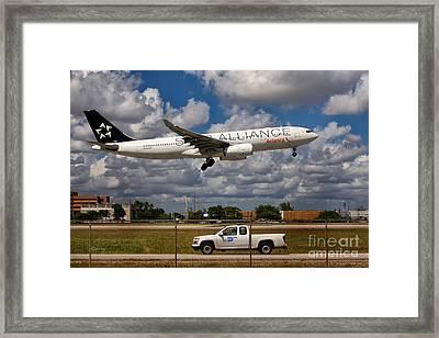 Avianca A-330 Airbus  Framed Print