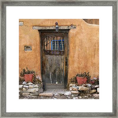 304 Canyon Road Framed Print