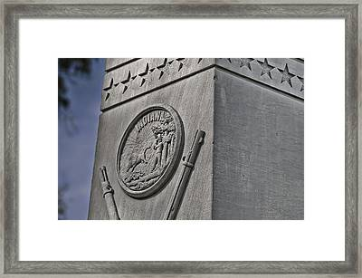 30th Indiana Framed Print