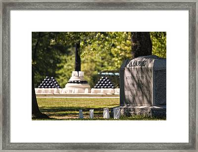49th Illinois Framed Print