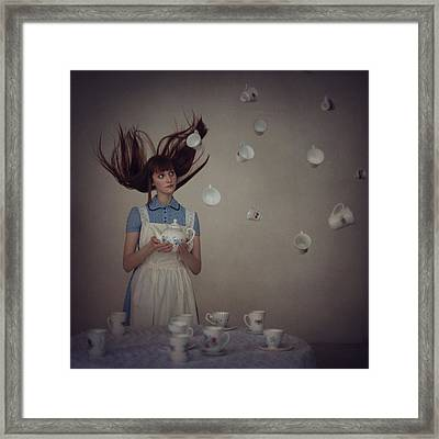 5 O'clock  Framed Print by Anka Zhuravleva