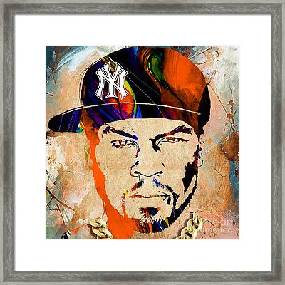 50 Cent Collection Framed Print by Marvin Blaine