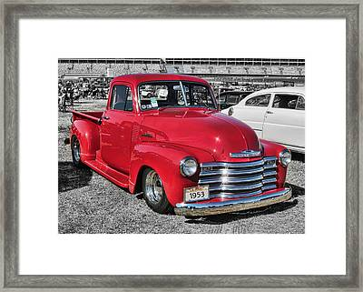 '53 Chevy Truck Framed Print