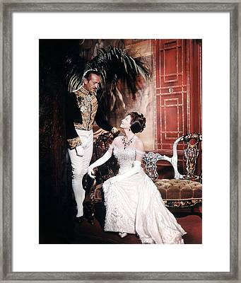 55 Days At Peking  Framed Print by Silver Screen