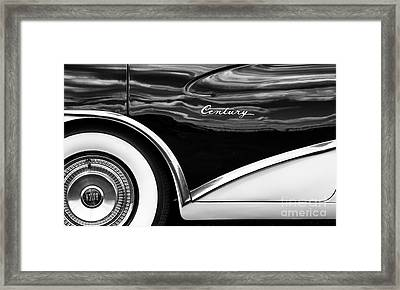 56 Buick Style Framed Print by Tim Gainey