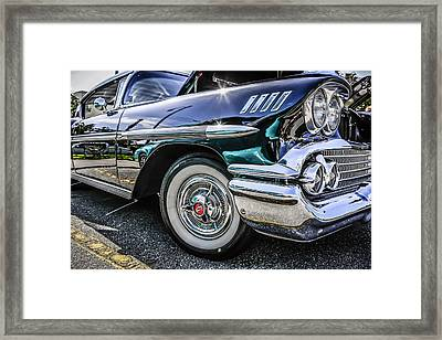 58 Chevy Impala Framed Print