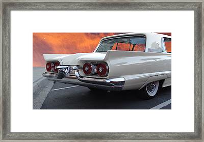 59 T-bird Framed Print