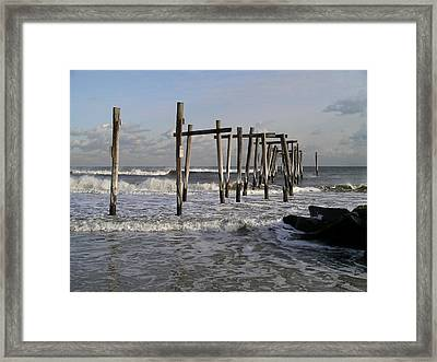 59th St. Pier Framed Print