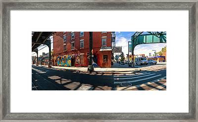 5pointz Aerosol Art Center, Long Island Framed Print by Panoramic Images