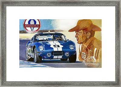 64 Cobra Daytona Coupe Framed Print
