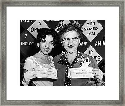 64000 Dollar Question 1955 Framed Print by Granger