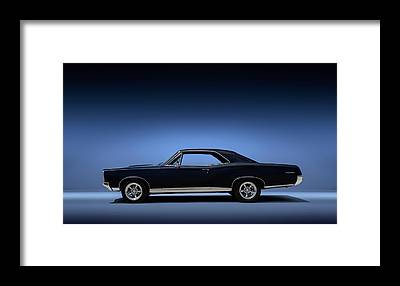 Sports Coupe Framed Prints