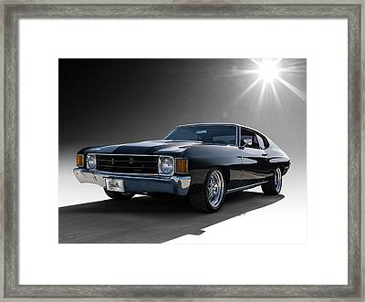 '72 Chevelle Framed Print