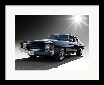 Chevy Coupe Framed Prints